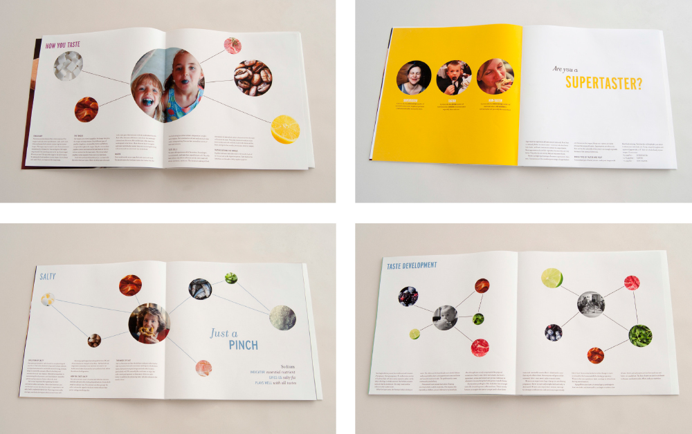 spreads from booklet